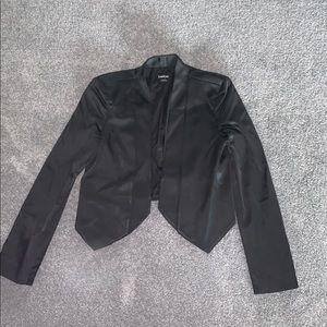 Black Bebe Blazer